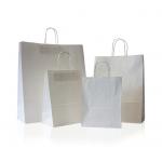 белые бумажные пакеты