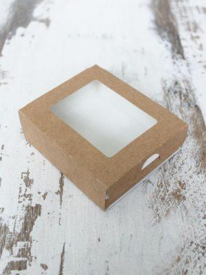 ВЫДВИЖНЫЕ КРАФТ КОРОБКИ С ОКНОМ CASE (10х8х3 см, 17х7х4 см, 20х12х4 см)