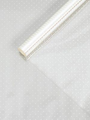 "ПЛЁНКА ПРОЗРАЧНАЯ В РУЛОНЕ ""МЕЛКИЙ ГОРОШЕК"" 0,72х7,5 метров (40 мкм)"